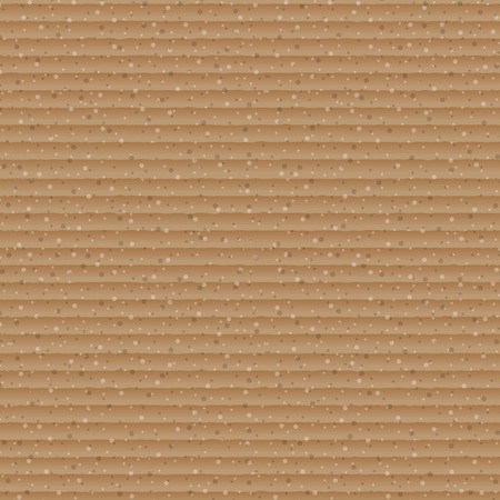 cardboard texture: Abstract brown cardboard texture background, stock vector Illustration