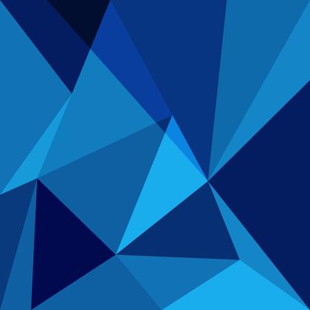 Blue low poly design element background, stock vector Illustration