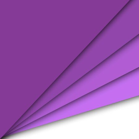 Purple paper overlapping abstract background, stock vector