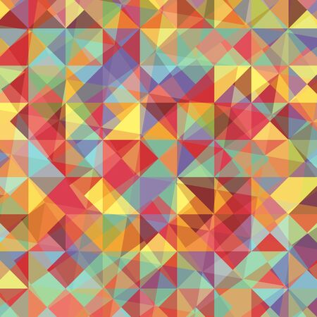 Colorful abstract background with triangles, stock vector