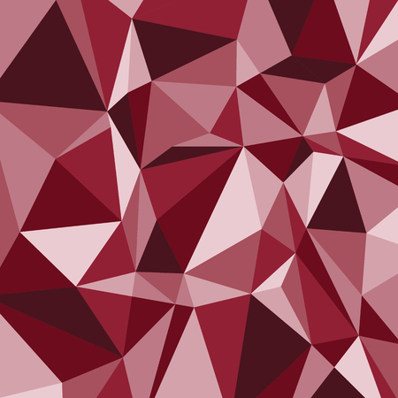 Red polygon abstract triangle background, stock vector Stock Vector - 82683665