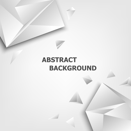 Triangle polygon design abstract background, stock vector Stock Vector - 82756444