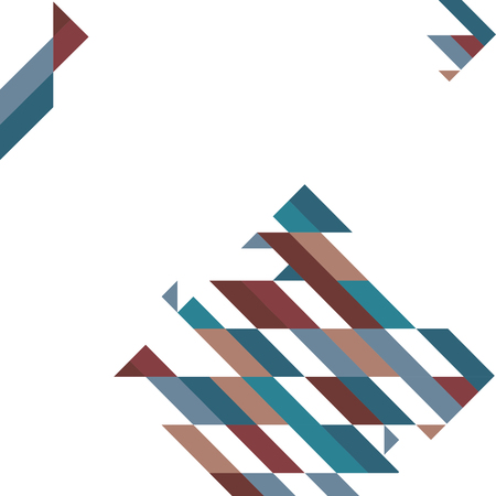 Abstract geometric shapes polygon background, stock vector Ilustração