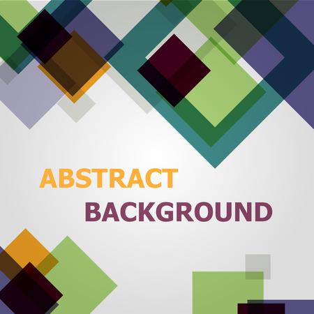 Square geometric pattern design background, stock vector