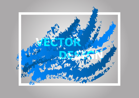 Abstract background with blue gradient, stock vector