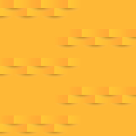 Abstract orange geometric texture background, stock vector Illustration