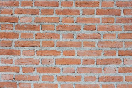 Background of old vintage brick wall, stock photo Stock Photo
