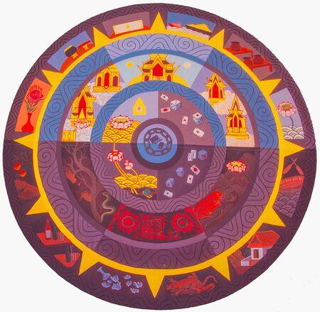circle of life: Human Circle Life Stock Photo