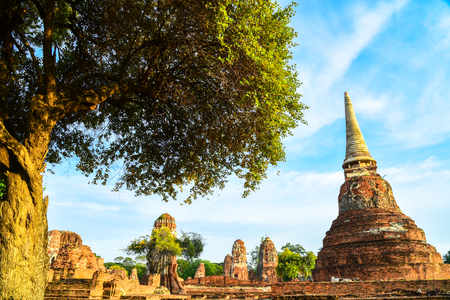 pronunciation: The Ayutthaya Historical Park Thai:  Pronunciation covers the ruins of the old city of Ayutthaya, Thailand. The city of Ayutthaya was founded by King Ramathibodi I in 13501:222 The city was captured by the Burmese in 1569, though not pillaged, it lost ma