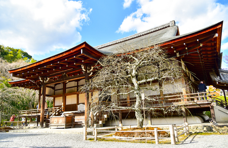 japanese temple: Old Japanese temple