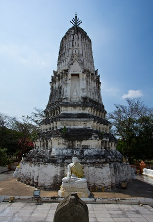 Wat thai in ayuttaya province photo