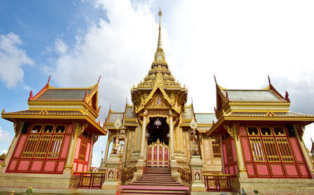 architecture Thai beautiful work , great and exquisite Stock Photo - 13591026