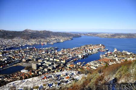 Bergen port, Norway