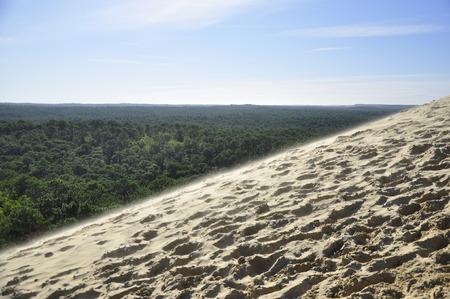 sand dune, Bordeaux Stock Photo
