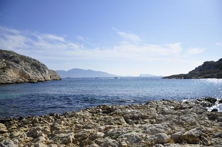 rock beach, Marseille