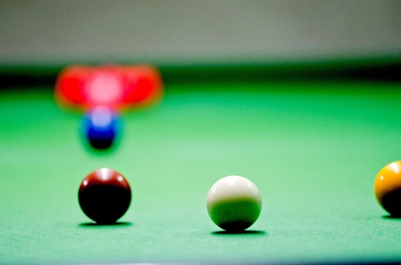 Play in snooker photo
