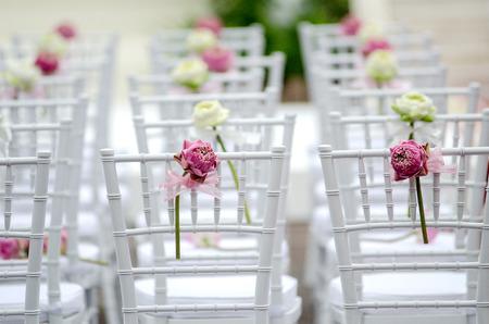 outdoor chair: wedding chair