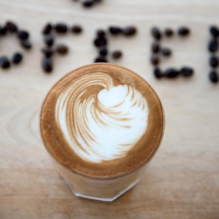 Hot Espresso with Latte Art