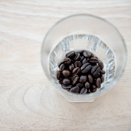 Coffee Beans in glass