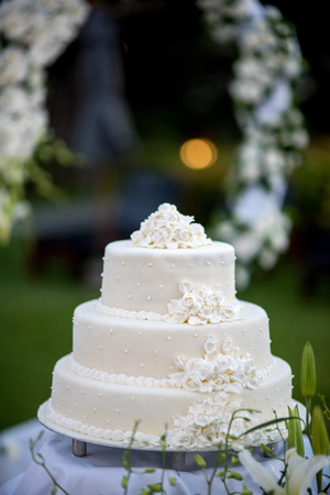 wedding reception decoration: Selective focus