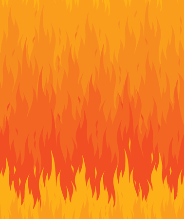 Fire flame seamless pattern background.