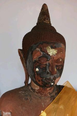 gold: Buddha statue in Thailand.