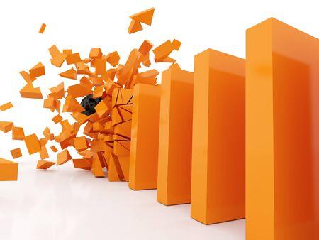 ドミノ近似計算クラッシュ オレンジ