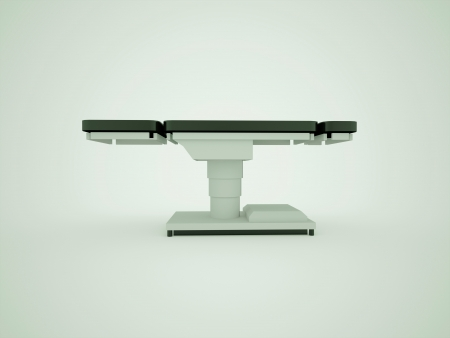 operating: Operating table modern design Stock Photo