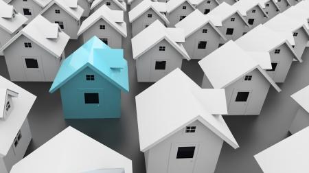 housing search: Casa uno blu