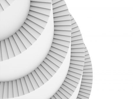 spiral stairs: Spiral stairs rendered