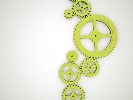 緑の歯車のコンセプト