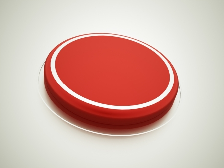 Red button rendered photo