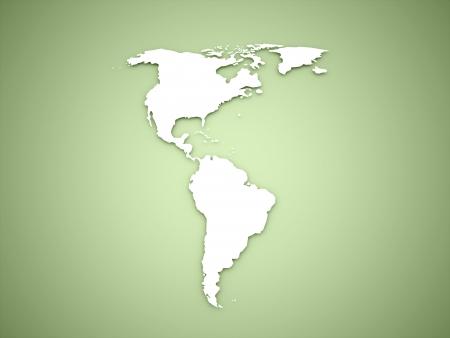 녹색 배경에 아메리카 대륙 스톡 콘텐츠