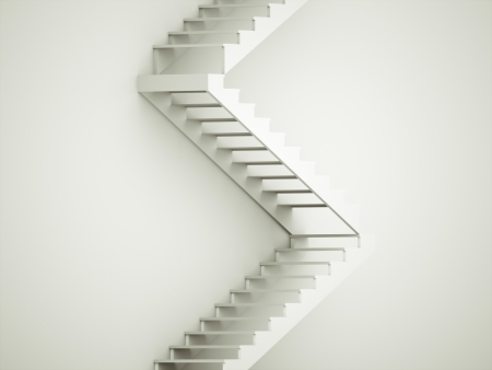 Stairs concept rendered photo