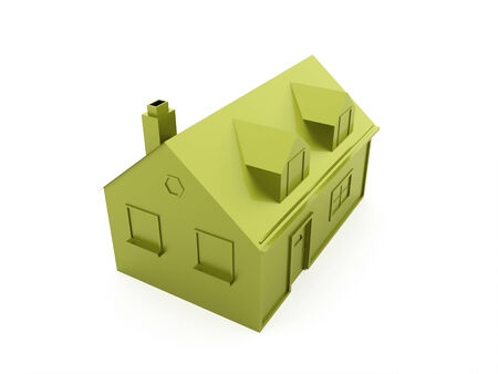 House icon concept green photo