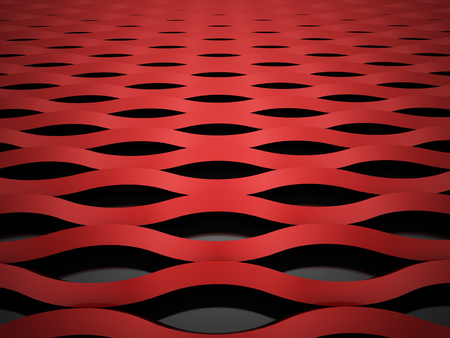 Red mesh background concept rendered photo