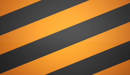 Orange barrier icon background photo