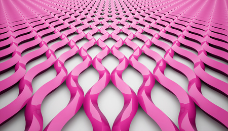 Pink mesh background concept rendered photo