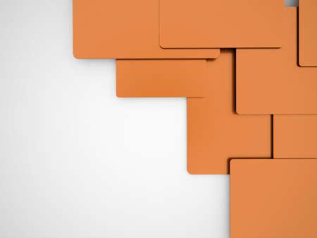 graphic card: Arancione informazioni concetto astratto scheda grafica
