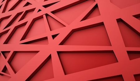 chaos: Red chaos mesh background rendered