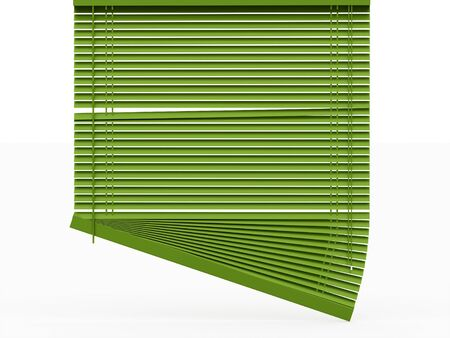 blinds: Blinds rendered on white background Stock Photo