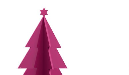 christmass tree: Abstract christmas tree concept rendered