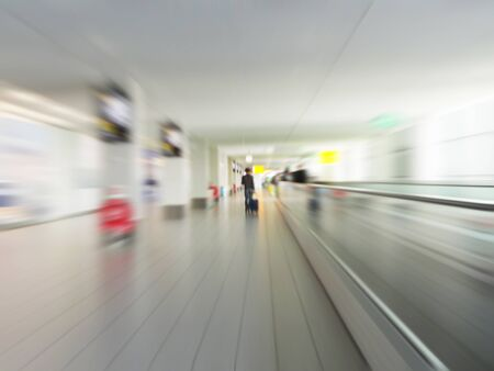 Airport floor in motion