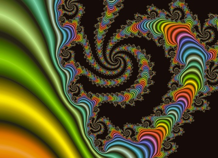 rhythmical: Colorful fracrtal background Stock Photo
