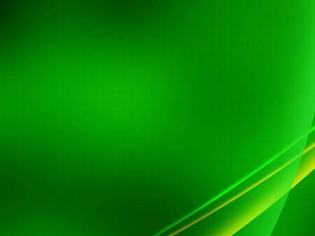 smooth curve design: Fondo abstracto de color verde y amarillo