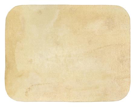Old worn grunge paper background photo