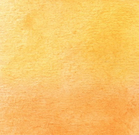 abstract yellow and orange watercolor background Reklamní fotografie