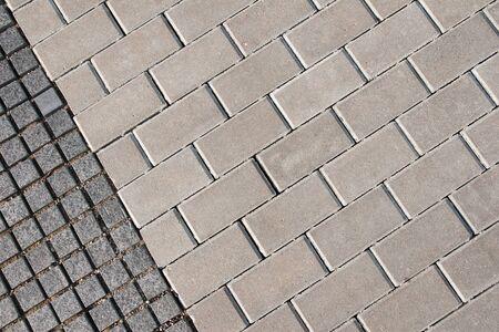 cobblestone street: Background texture of tiled ground