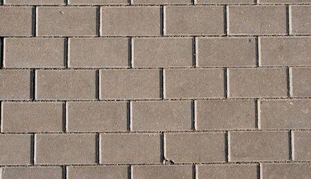 Granite tiles on the ground photo