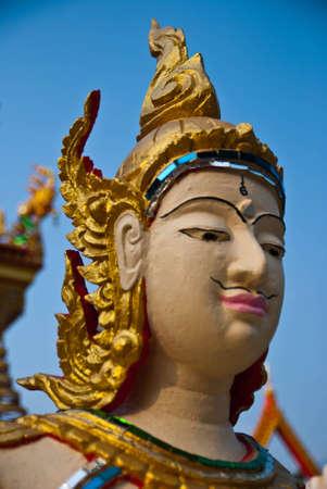 recluse: Native Thai style art  Stock Photo